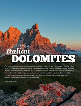 War and Peace in the Italian Dolomites