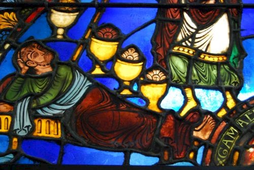 Chalons stained glass window © Lisa Gerard-Sharp