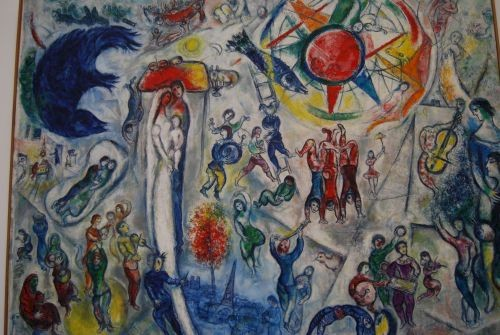 Chagall's poetic vision © Lisa Gerard-Sharp