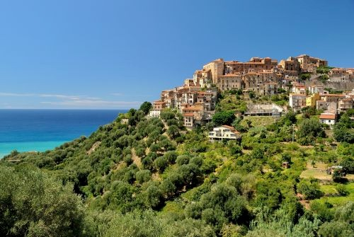 Pisciotta, set in the Unesco-listed Cilento National Park