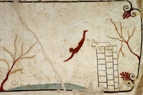 Tomb of the Diver, Diving into Paestum  © Parco Archeologico di Paestum