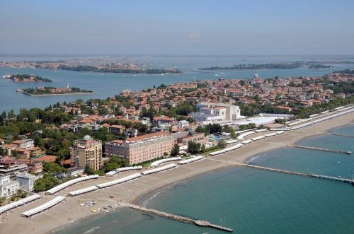 The Lido, setting for Venice Film Festival © Excelsior Hotel